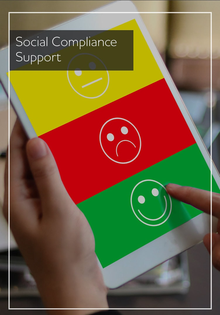 Social Compliance Support